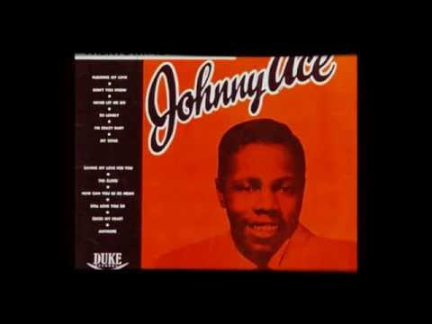"JOHNNY ACE - ""PLEDGING MY LOVE""  (1955)"