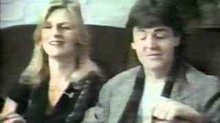 Paul & Linda McCartney - Good Morning America 1980 (Part 2)