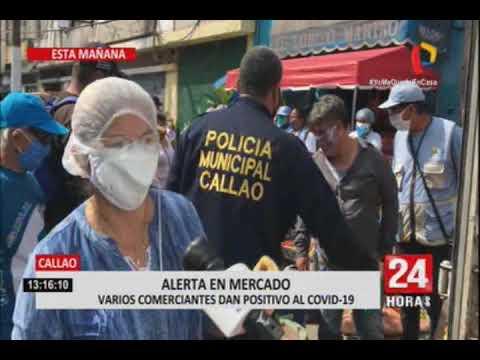 Coronavirus: cierran mercado Central del Callao tras detectar 30 infectados