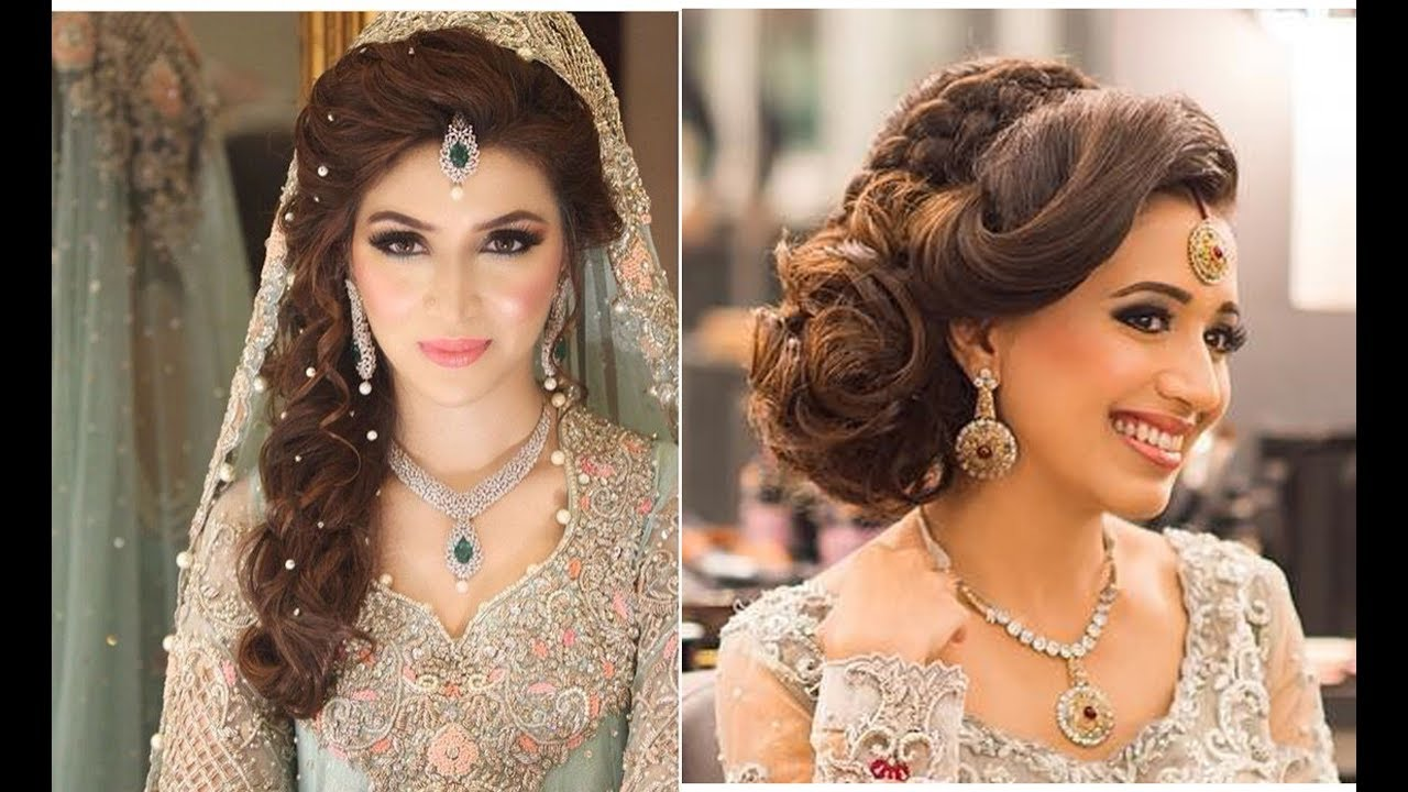 indian bridal hairstyles | bridal hairstyles for asian wedding