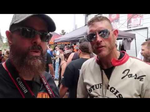 2017 Biketoberfest: Sons Of Speed Vintage Board Track Motorcyle Racing At New Smyrna Speedway