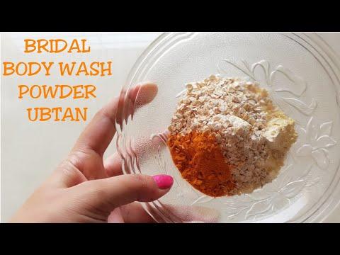 BRIDAL UBTAN POWDER FOR BODYWASH & BODY POLISHING(HINDI)