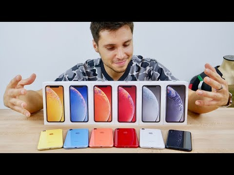 iPhone XR Unboxing! All Colors