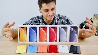 iPhone XR Unboxing! All Colors iPhone 検索動画 20