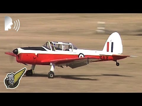 Impressive de Havilland DHC-1 Chipmunk Aerobatics