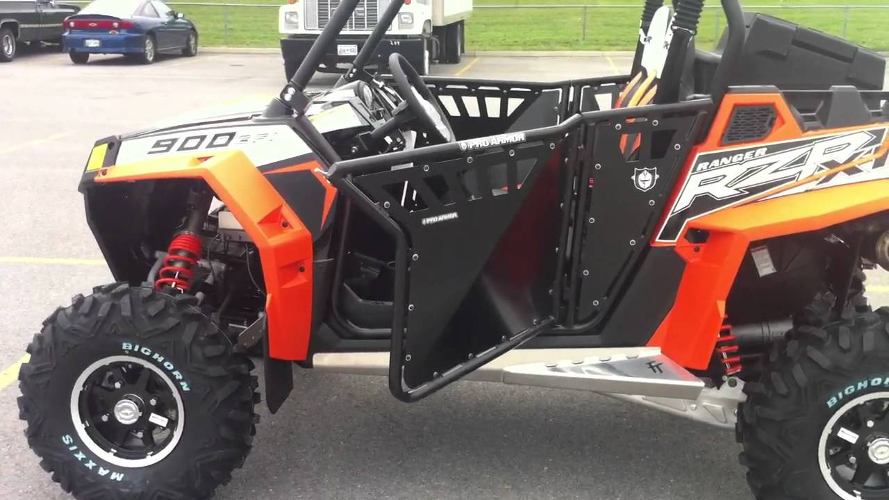 2012 Polaris Rzr Xp 900 Black Orange Madness Le Youtube