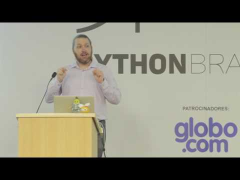 Image from Keynote: Python all the things!