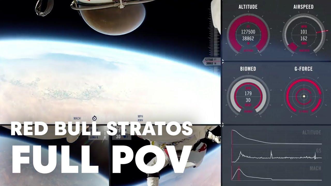 Falling from Space: Felix Baumgartner's Leap from 128,000