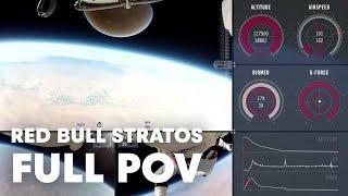 Red Bull Stratos FULL POV | Felix Baumgartner's Stratosphere Jump