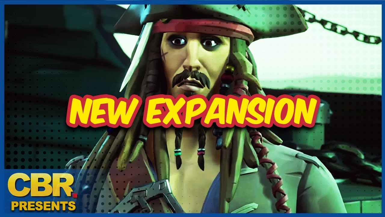 Pirates of the Caribbean's Captain Jack Sparrow Sails Into Sea of Thieves