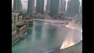 Дубаи Фонтан красивая музыка
