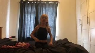 Mia singing Ariana Grande breathin