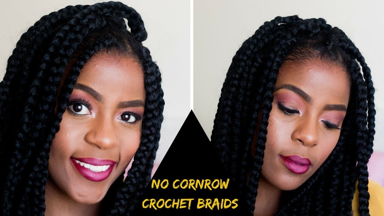 how to styles hair how to no cornrow crochet braids on hair 1445