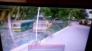Accident in thandarampet 01