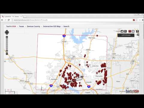How To Create a Property List with TaxNetUSA Pro Search and Interactive GIS Maps