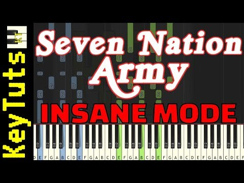 Learn to Play Seven Nation Army by The White Stripes - Insane Mode