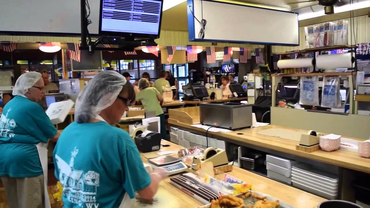 Wheeling documentary p2 coleman 39 s fish market youtube for Coleman s fish market