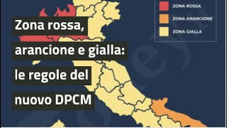 Nel corso della serata di mercoledì 4 novembre, il premier conte ha annunciato la ripartizione delle regioni in zona rossa, arancione e gialla, le misure p...