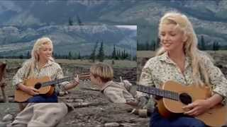 MARILYN MONROE sings Down In The Meadow in River of No Return - The Full Movie Scene (high quality)