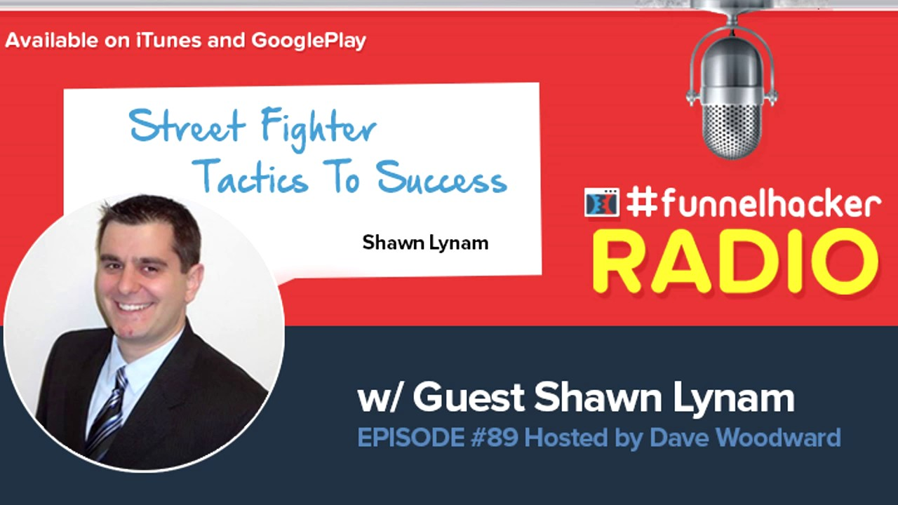 Shawn Lynam, Street Fighter Tactics To Success