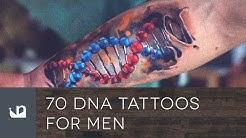 70 DNA Tattoos For Men