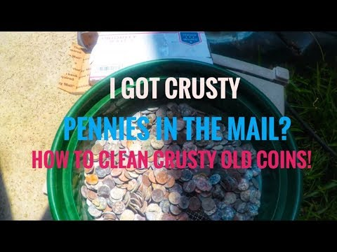 How to clean dirty coins