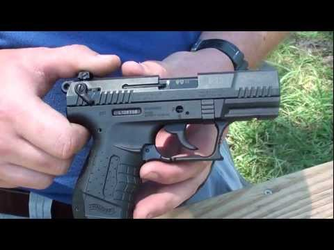 Disassembly Walther P22 Walther P22