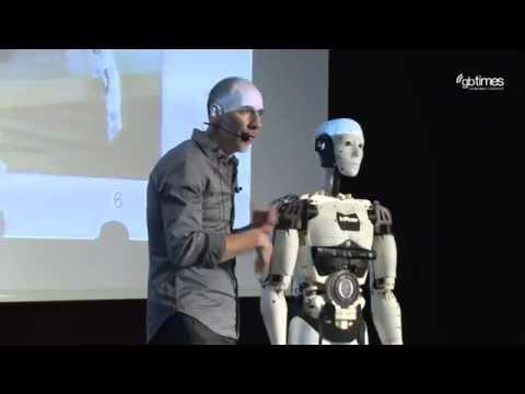 Gael Langevin - The 3D Printed Robot InMoov | Mindtrek Openmind 2015