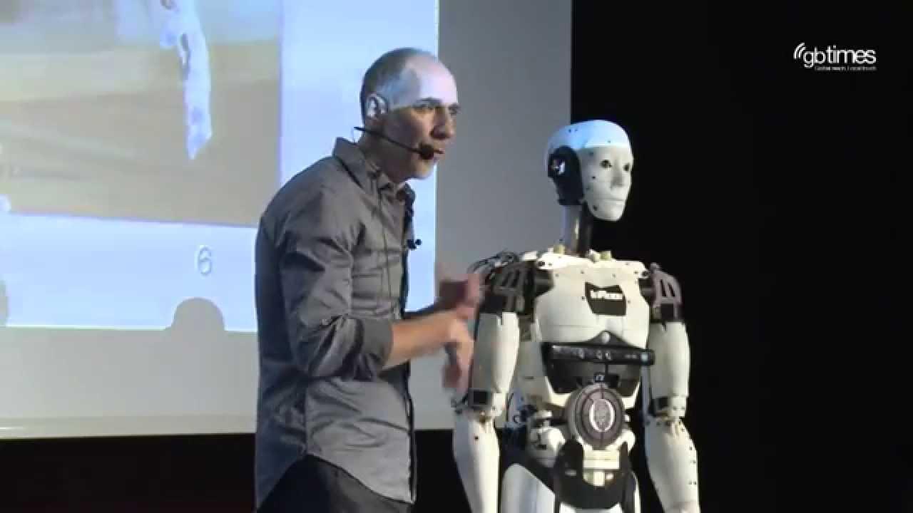 Gael Langevin - Der 3D-gedruckte Roboter InMoov | Mindtrek Openmind 2015 - YouTube