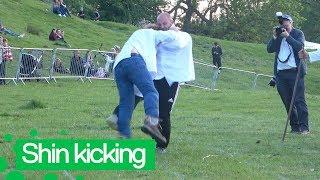 World Shin Kicking Championship Takes Place in the UK