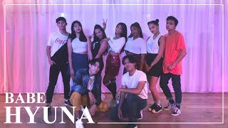 HyunA (현아) - BABE (베베) dance cover by RISIN' CREW from France
