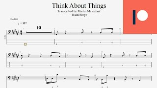 Daði Freyr - Think About Things (bass tab)