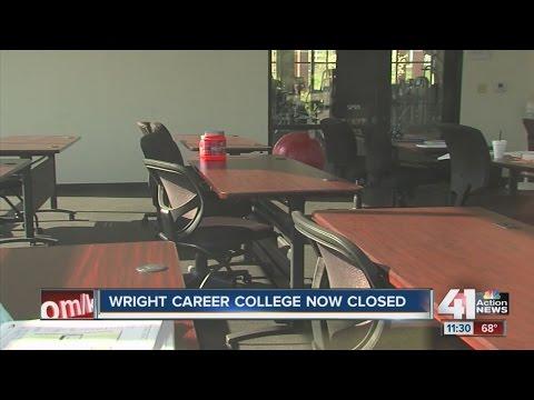 Wright Career College closed overnight