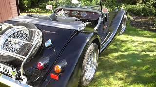 Morgan Plus 8 - driving