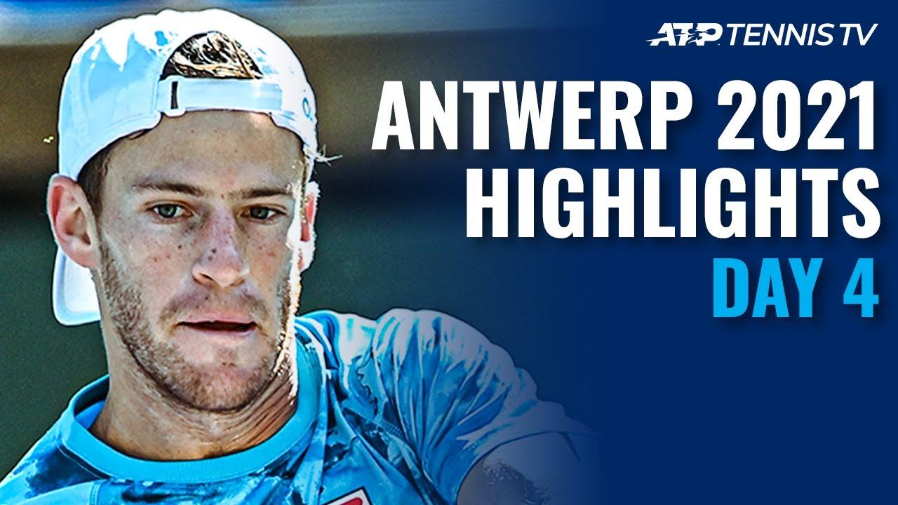 Murray Battles Schwartzman; Bautista Agut & Harris In Action | Antwerp 2021 Day 4 Highlights