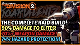 The Division 2 - The Complete Raid Build   90% DTE   70%+ Weapon Damage!