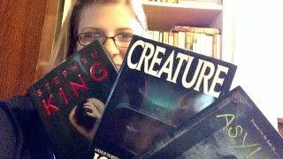 Creepy Book Reviews- No Spoilers