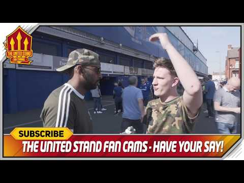 Player's Don't Care! Everton 4-0 Manchester United FanCam