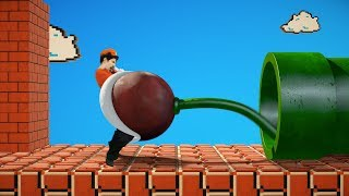 Super Mario vs Piranha plant