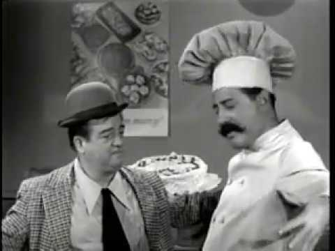 Abbott & Costello: Lou's Birthday Cake with Mr  Bacciagalupe