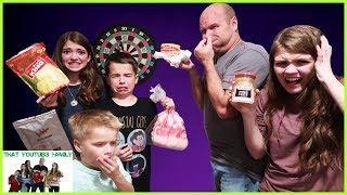 DARTBOARD CHALLENGE / That YouTub3 Family