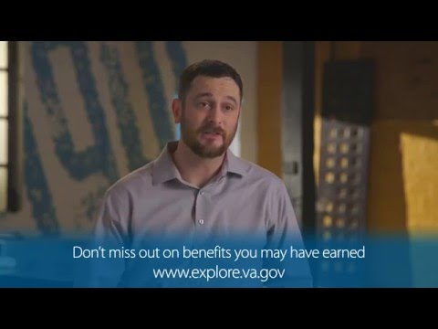 ExploreVA video ad:  VA Serves Veterans