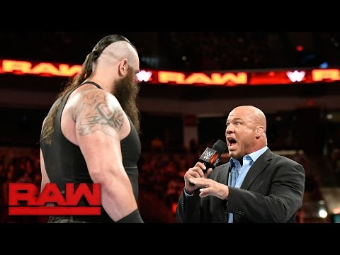 Thumbnail: Kurt Angle confronts Braun Strowman: Raw, April 17, 2017