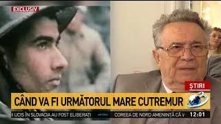 Când va avea loc următorul mare cutremur în România. Gheorghe Mărmureanu a făcut anunțul