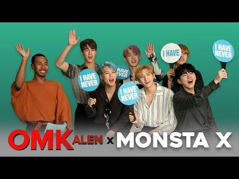 'OMKalen': MONSTA X Plays 'Never Have I Ever'
