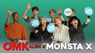 'OMKalen': MONSTA X Plays 'Never Have I Ever'