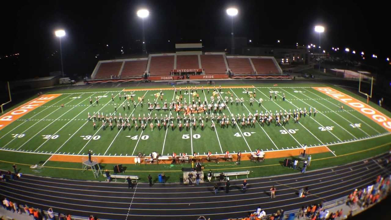 La porte high school mighty bulldog marching band fifth for Laporte schools