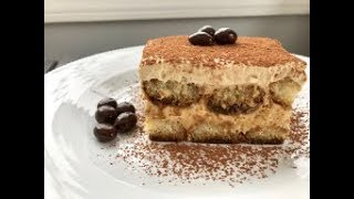 How  to Make Tiramisu! Classic Italian Dessert Recipe in Gujarati with Raihana