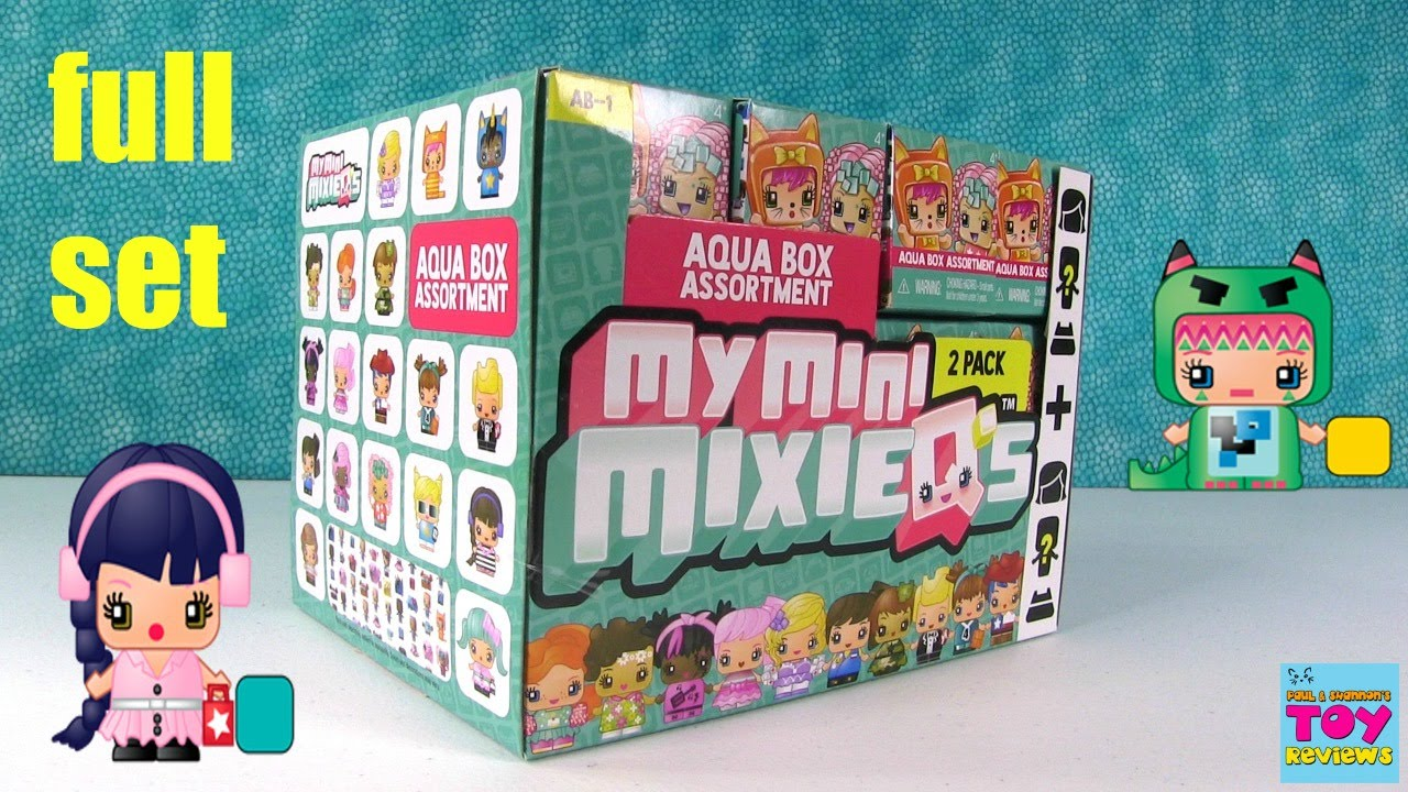 Aqua box my mini mixie qs new figures blind box toy opening pstoyreviews youtube