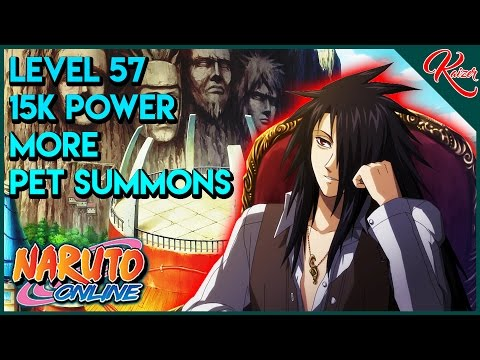 Naruto Online | Level 57 | 15K Battle Power | More Pet Summons